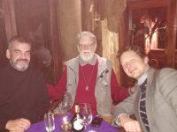 mit Franz Gatzweiler und Manfred in der Cava de Buho